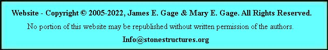 Copyright (c) 2005-2008, James E. Gage & Mary E. Gage. All Rights Reserved.