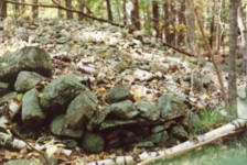 Vertical Wall Ground Cairn