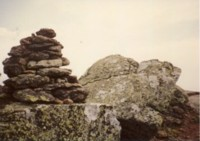 Hiking Trail Cairn