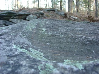 Grooved Stone Mystery Hill America's Stonehenge