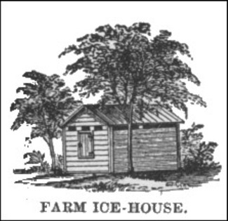 A simple 19th Century Farm Ice House (1884)