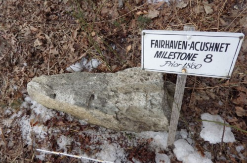 Massachusetts Acushnet Milestone 8