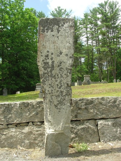 Chester NH Milestone Guidepost