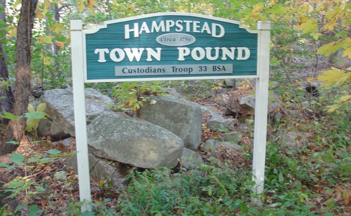 Town Pound Hampstead NH