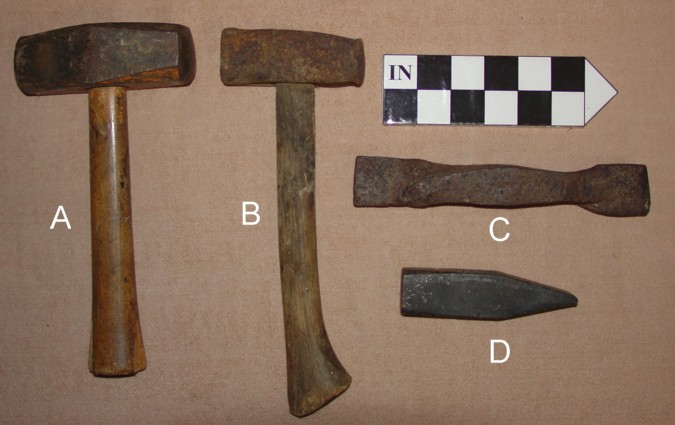 Stone Mason Tools : Stone structures of northeastern u s quarry tool gallery