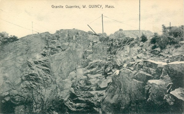 Granite Quarry West Quincy MA circa 1910-1915