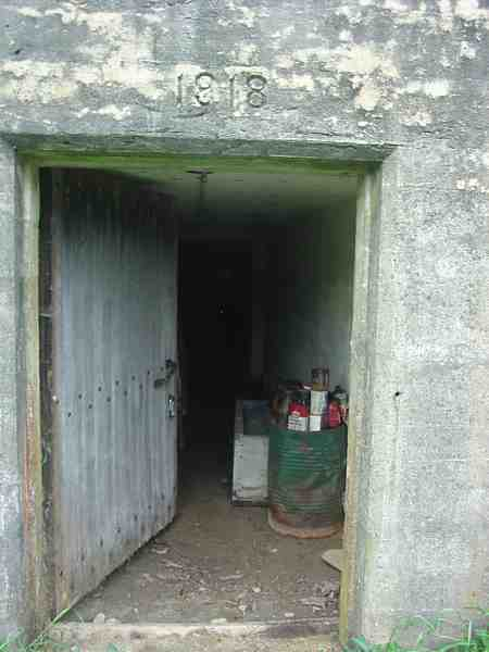 1918 Concrete Root Cellar Entrance - Maudslay State Park, Newburyport MA